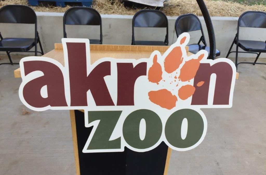 """Recycling and Litter Prevention Community Grant Success Story: Akron Zoo"""