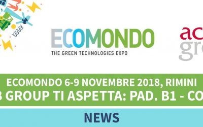 Big Hanna composter at Ecomondo exhibition in Rimini, Italy
