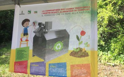 Summer school in Italy using Big Hanna for their food waste