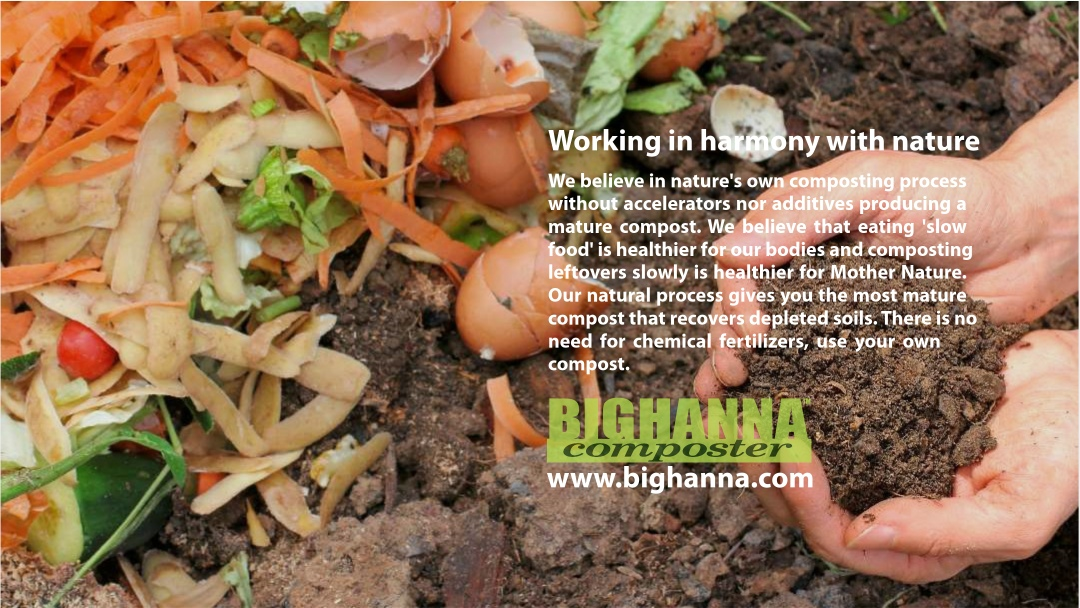 Big Hanna composter – working in harmony with nature
