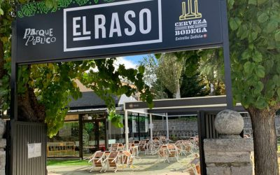 Restaurant El Raso in mountain area of Madrid