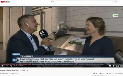 Hotel Tigaiga, Tenerife and Big Hanna are featured in 'Buenos Días Canarias'